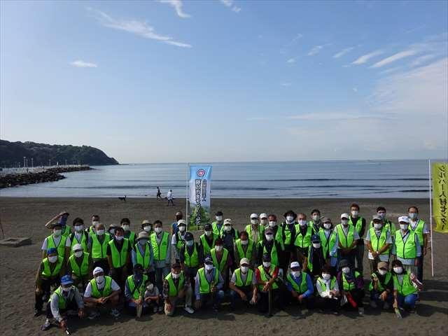 令和2年度 海岸清掃ボランティアを行いました。!